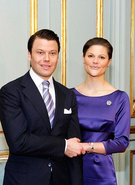 Daniel Westling y la princesa Victoria