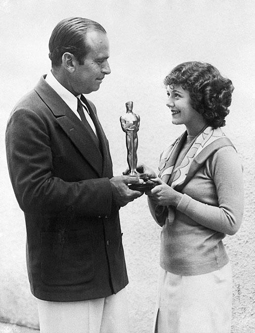 Janet Gaynor en el Oscar