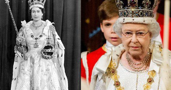 La corona de la reina Isabel