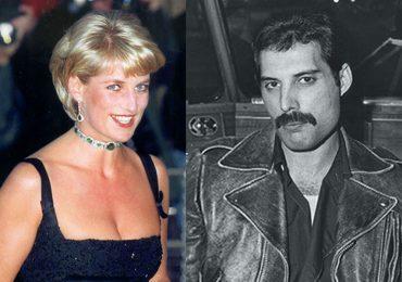 Princesa Diana y Freddie Mercury