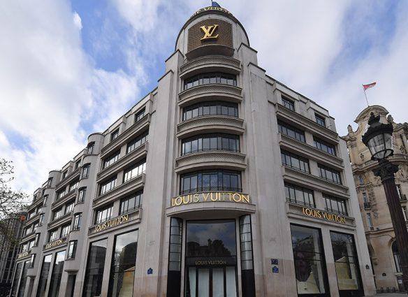 Tienda Louis Vuitton París