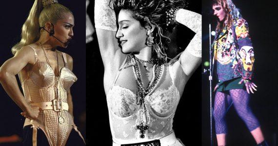 Los looks inmortalizados por Madonna