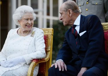 Reina Isabel y duque de Edimburgo