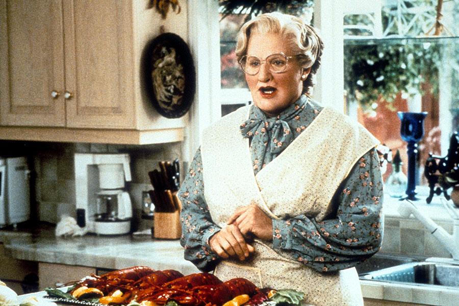 """Robin Williams en """"Mrs. Doubtfire"""""""