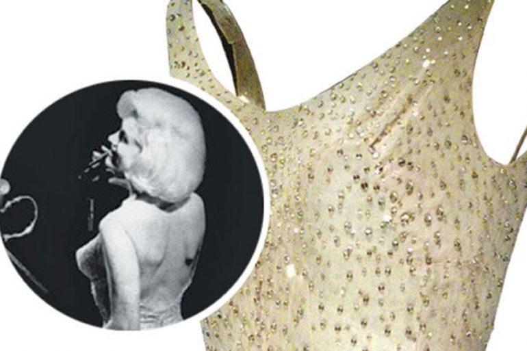 Vestido nude de Marilyn Monroe