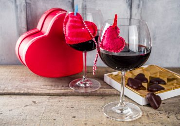 Vinos y chocolates