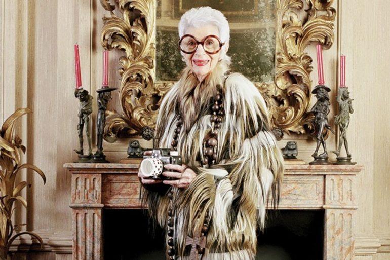 Iris Apfel, la modelo de 97 años