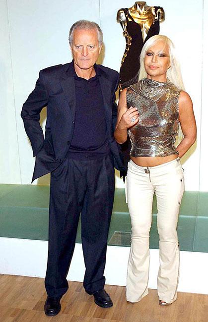 Santo y Donatella Versace