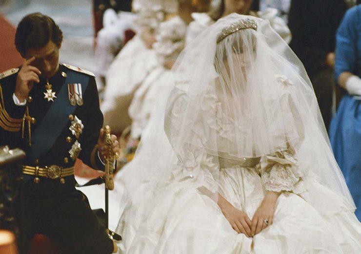 vestido de novia princesa diana boda boceto