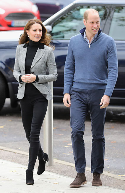 William y Kate en Coach Core