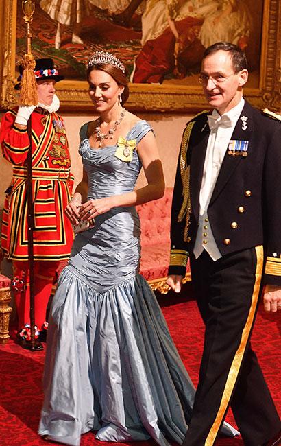 Kate con vestido Alexander McQueen