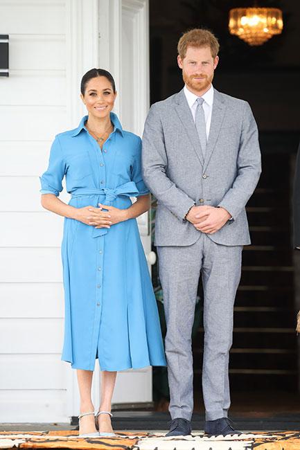 Meghan y Harry en Tonga