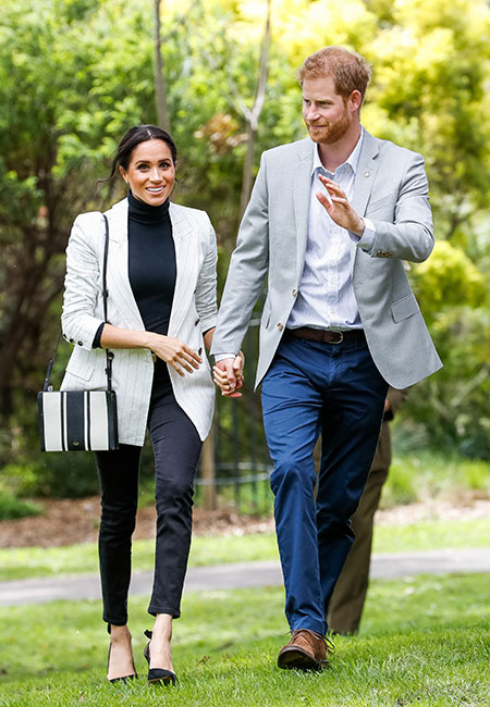 Harry y Meghan en Síndey