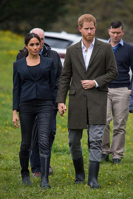 Harry y Meghan en Auckland