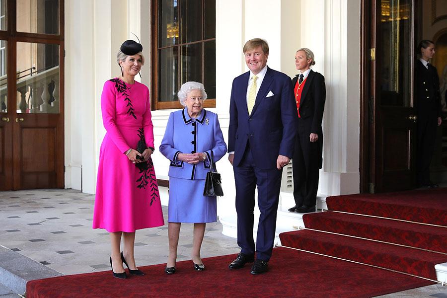 Reyes de Holanda en Inglaterra