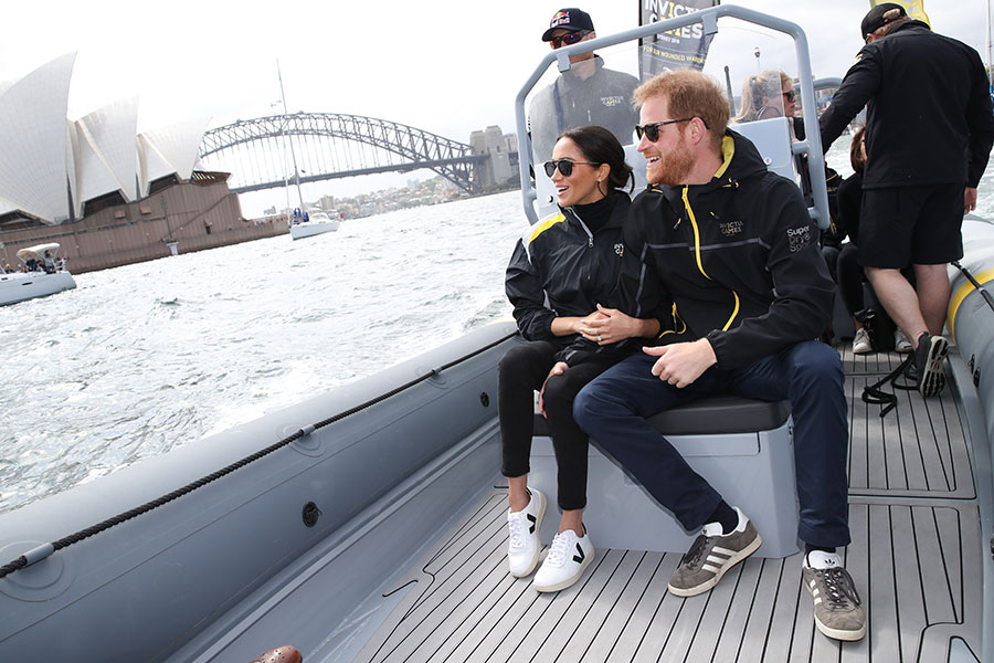 Meghan y Harry en Sídney