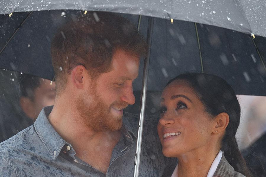 Harry y Meghan en Dubbo