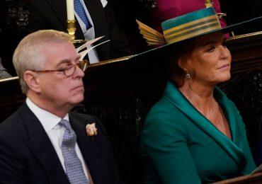 Sarah Ferguson y príncipe Andrés