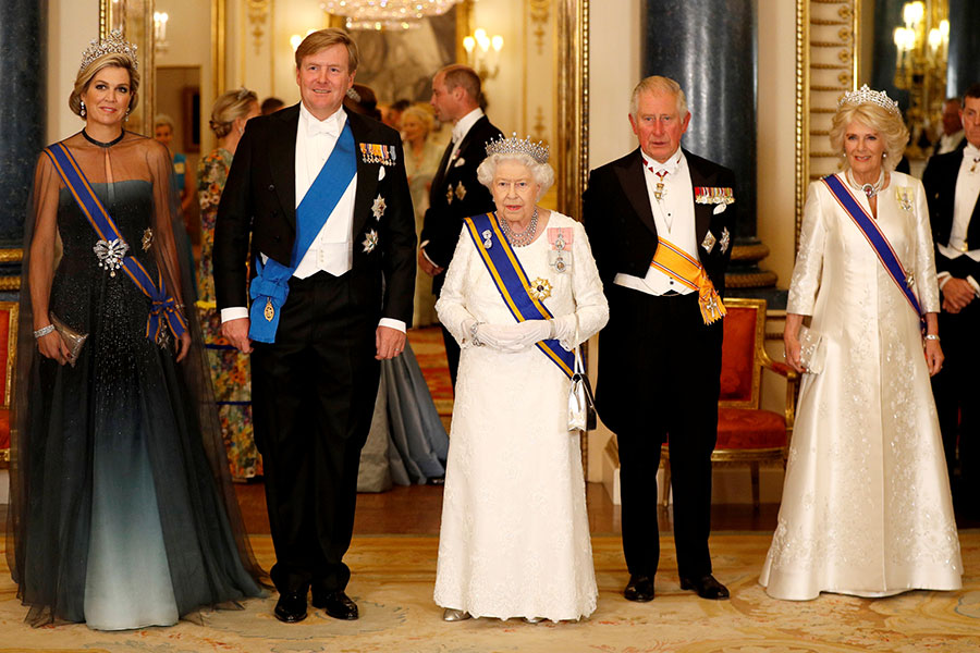 Gala de los reyes de Holanda