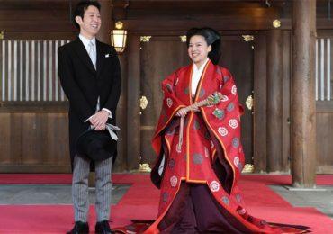 Boda de la princesa Ayako y Kei Moriya