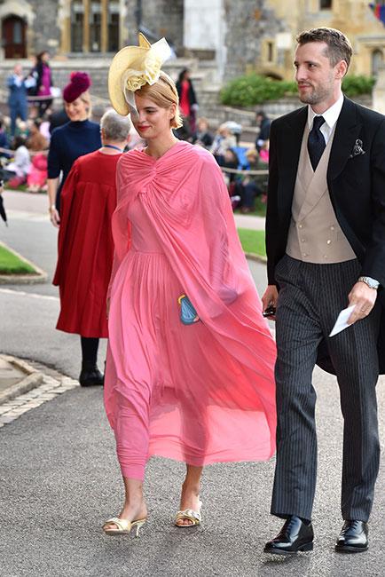 Pixie Geldof en la boda de la princesa Eugenia