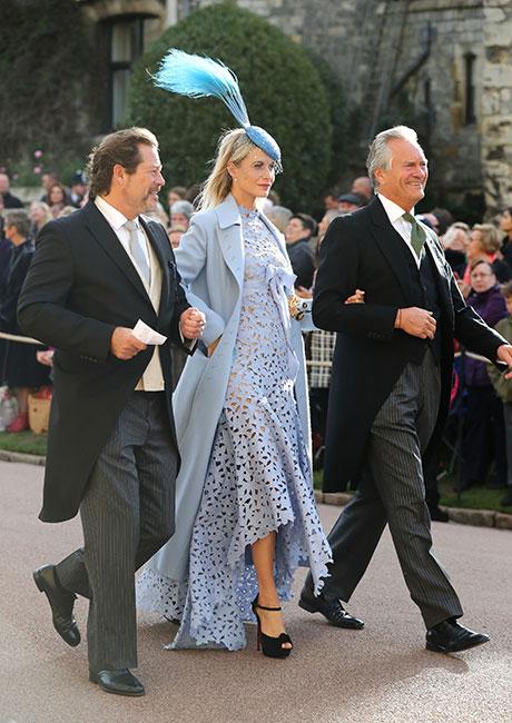 Poppy Delevingne en la boda de la princesa Eugenia