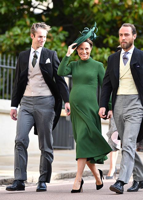 Pippa Middleton en la boda de la princesa Eugenia