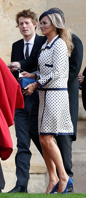 Kate Moss en la boda de la princesa Eugenia