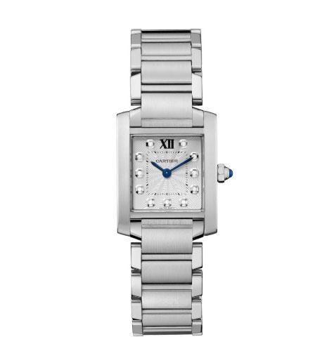Reloj Cartier Tank Française, de Meghan