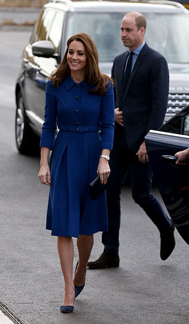 William y Kate en Centrepoint