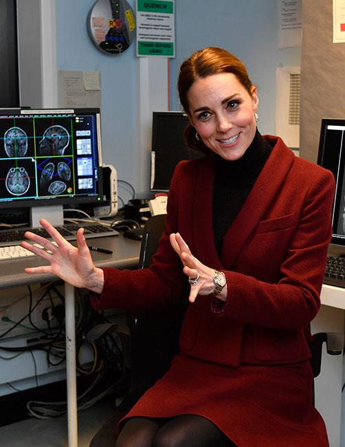 Kate Middleton en la University Collage de Londres