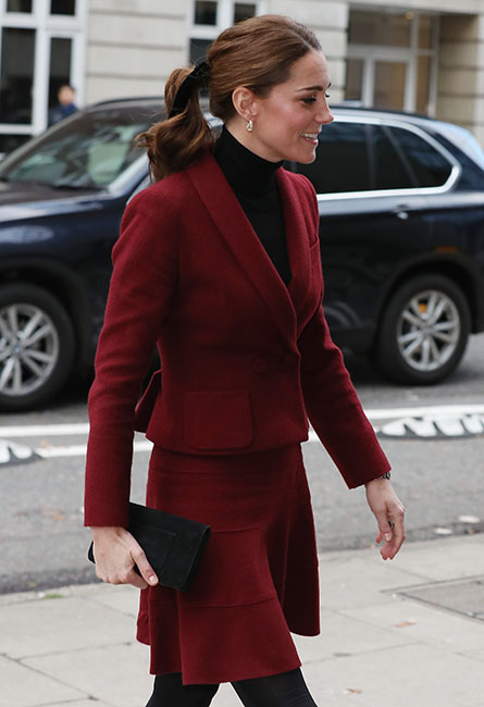 Kate Middleton en la University Collage de Londres