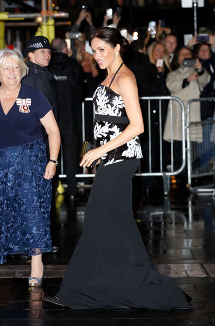Meghan en la Royal Variety Performance