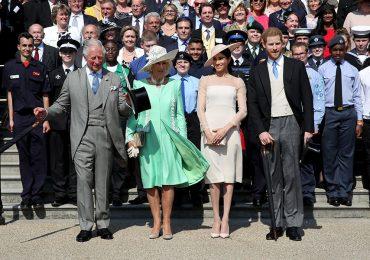 Príncipe Carlos, Camilla, Meghan Harry