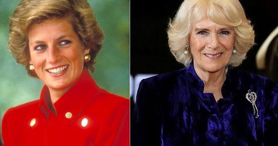 Princesa Diana y Camilla Parker