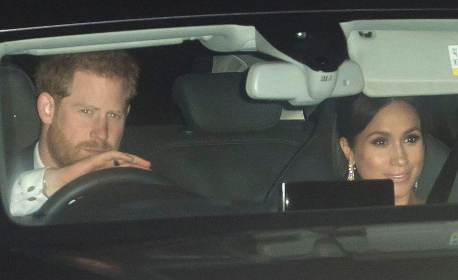Harry y Meghan en la fiesta del príncipe Carlos