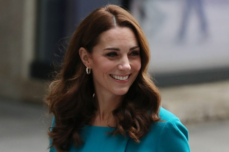 Kate Middleton en la BBC