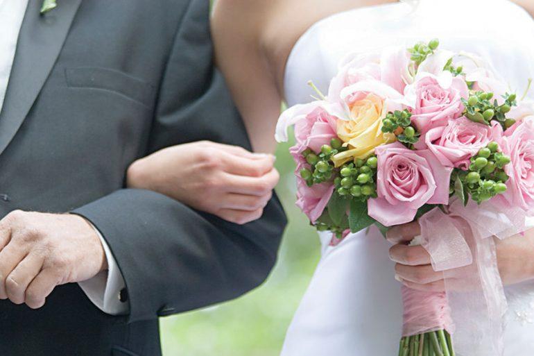 consejos para consolar a papá el día de tu boda
