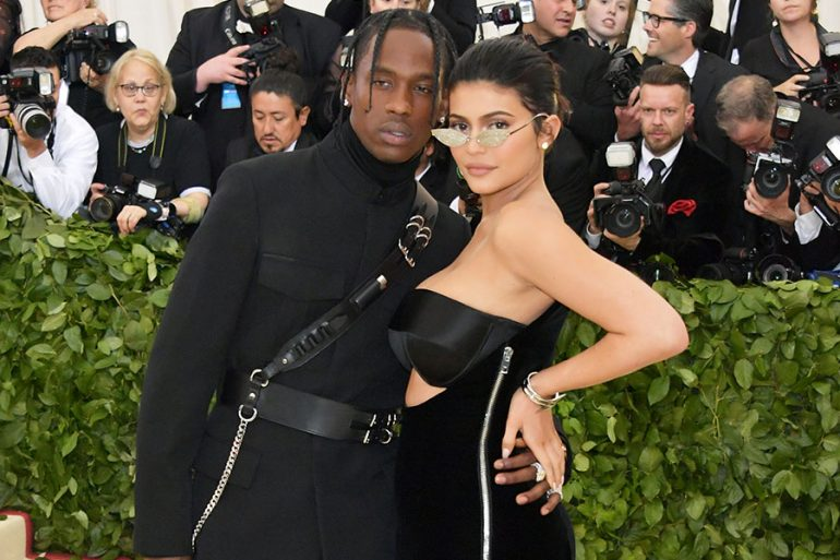 Travis Scott y Kylie Jenner