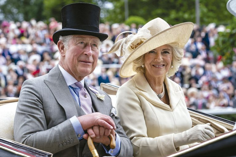 Príncipe Carlos y Camilla