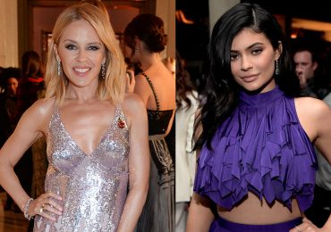 Kylie Minogue y Kylie Jenner