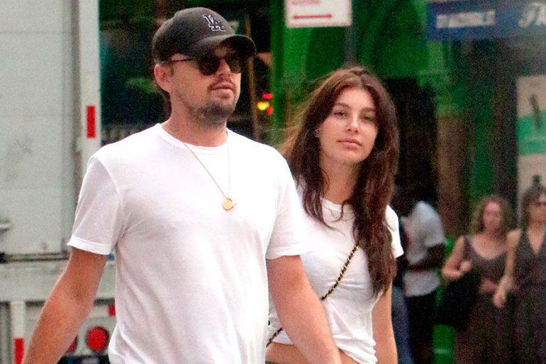 Leonardo DiCaprio y Camila