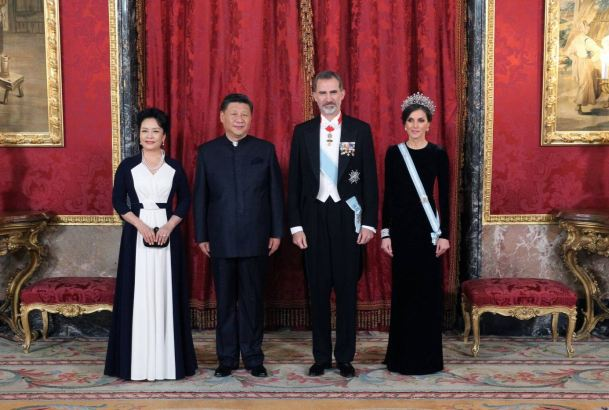 Gala con el presidente de China