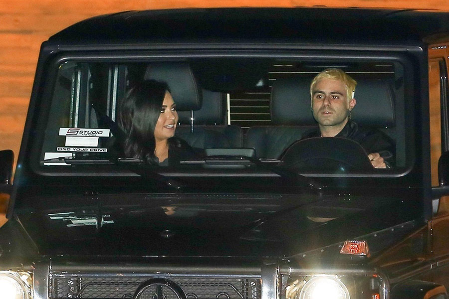 Demi Lovato y Henry Levy