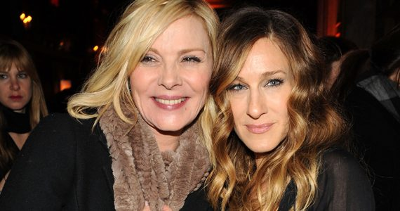Kim Cattrall y Sarah Jessica Parker