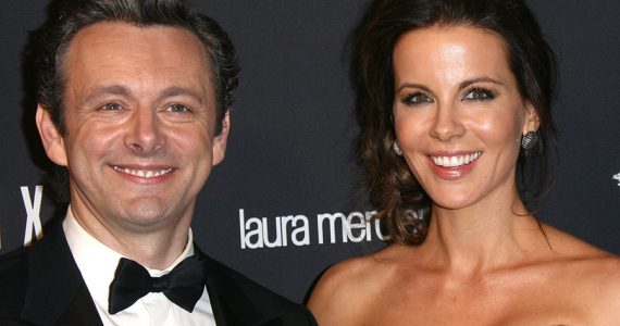 Michael Sheen y Kate Beckinsale