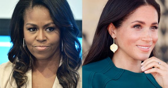 Michelle Obama y Meghan Markle