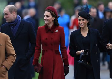 Príncipe William, Kate y Meghan