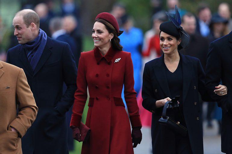 Príncipe William, Kate y Meghan
