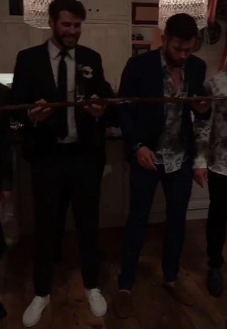 Supuesta boda de Miley Cyrus y Liam Hermsworht